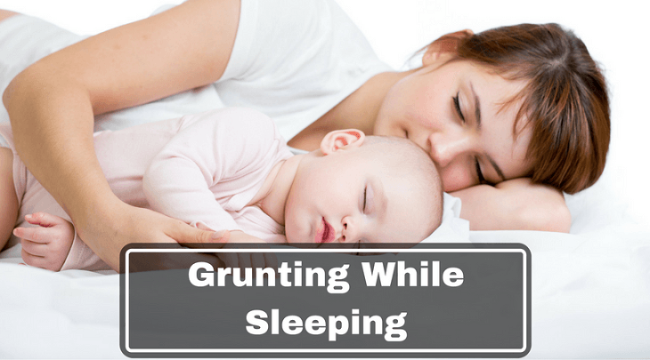 baby grunting while sleeping