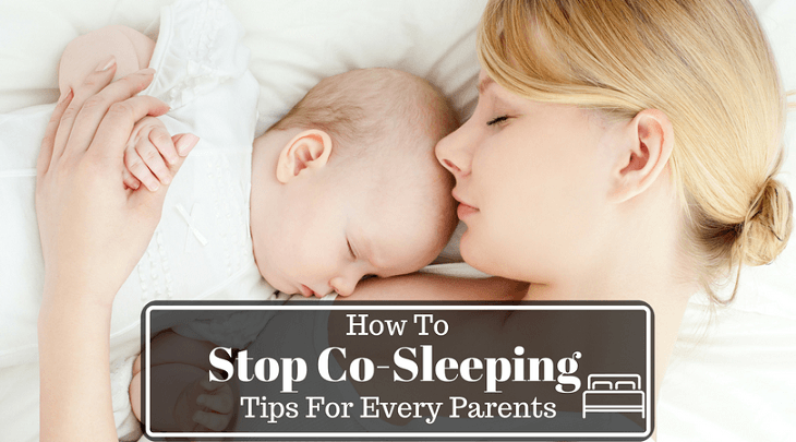 how and when to stop co-sleeping