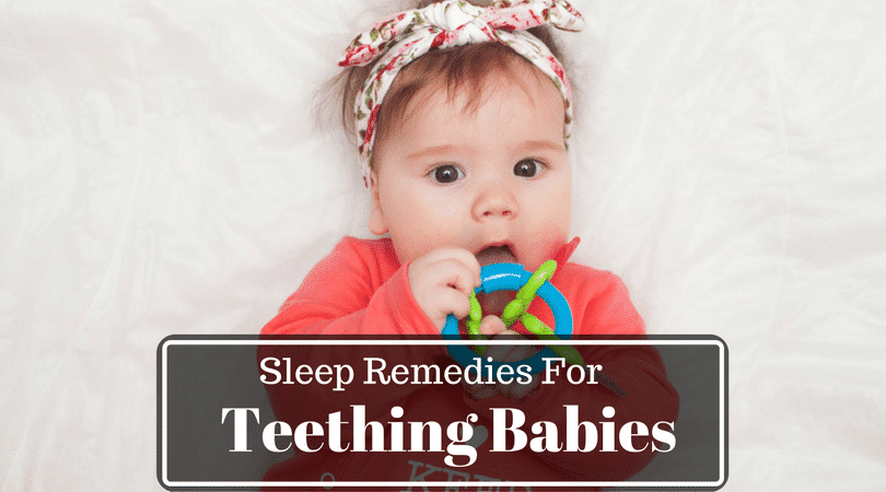 help teething baby to sleep