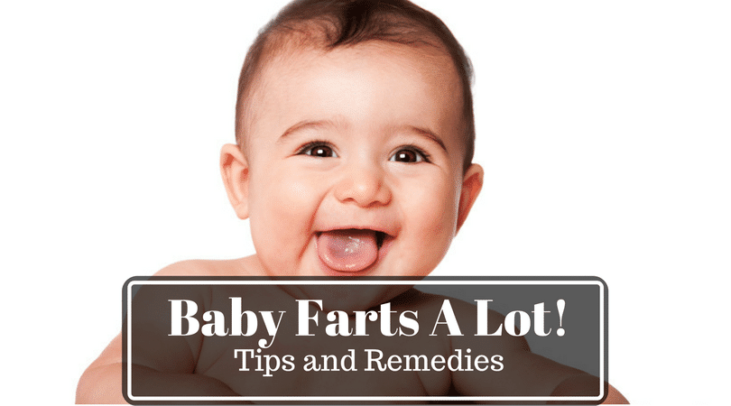 Baby Farts a Lot