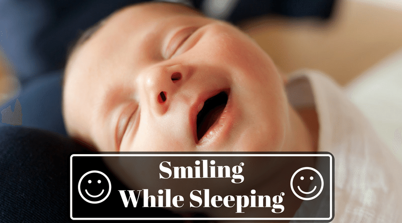 Baby Laughing In Sleep