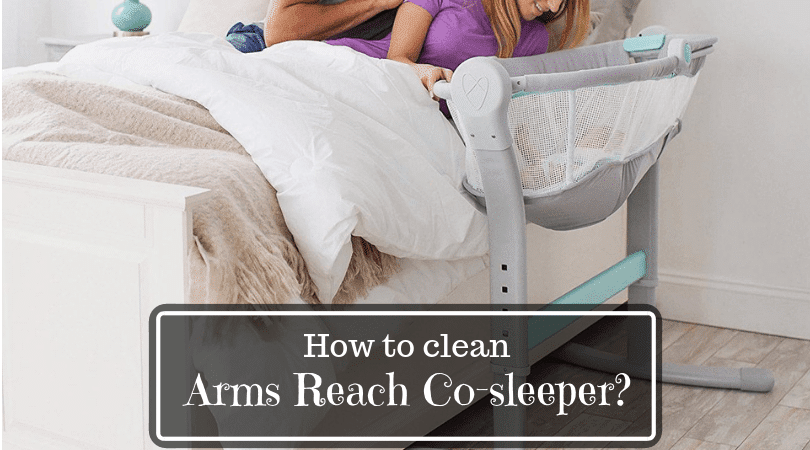 Clean Arms reach co-sleeper