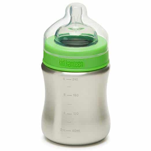 Klean Kanteen Stainless Steel Baby Bottle