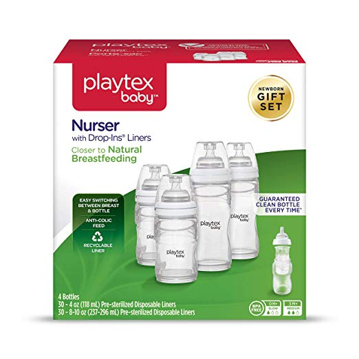 Playtex Drop-Ins Nurser Bottle
