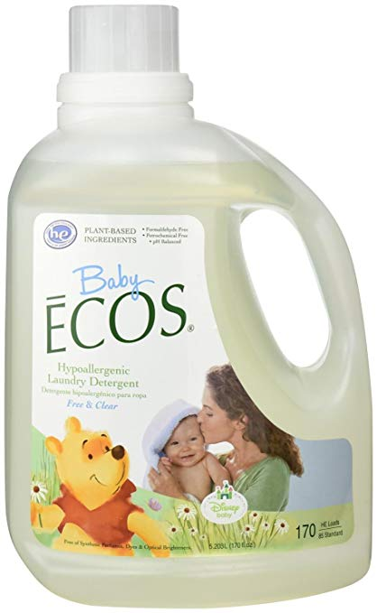 Baby ECOS Free & Clear Disney Bottle & Dish Soap