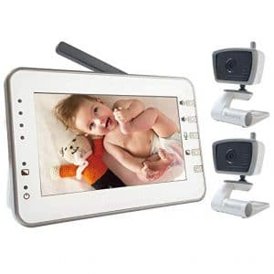 MoonyBaby 4.3 inches Large LCD Video Baby Monitor
