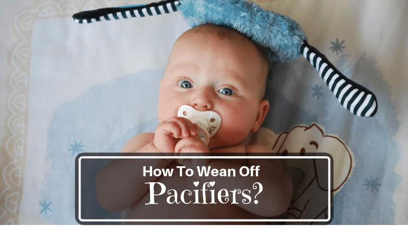 Weaning off pacifiers