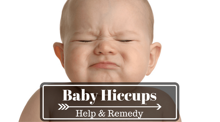 how to relieve infant hiccups