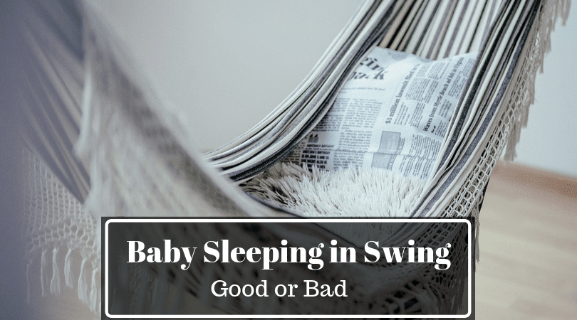 Baby Sleeping in Swing Overnight